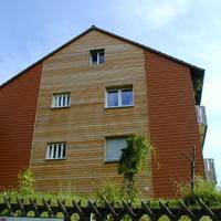 Fassadenverkleidung und Dämmung