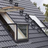 Der kleine Dachbalkon CABRIO von VELUX